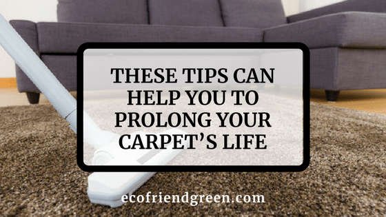 These Tips Can Help You To Prolong Your Carpet's Life