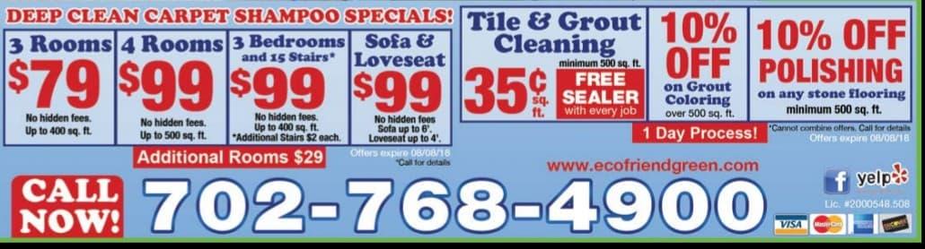 Carpet Cleaning Las Vegas Nv Eco Friend Carpet Care